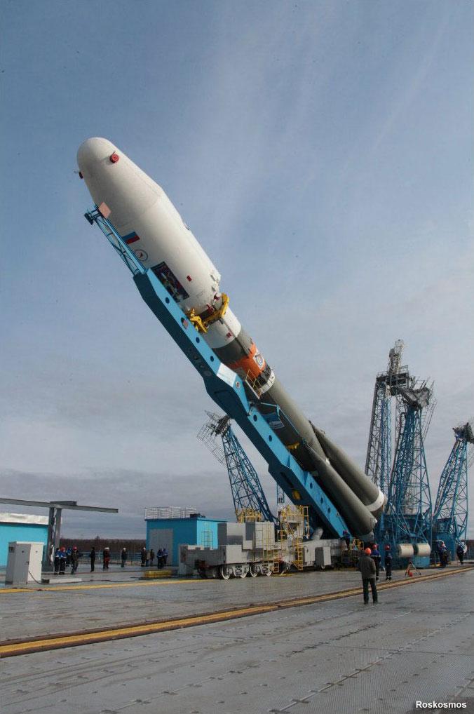 Levantamiento del cohete