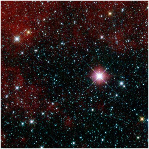 Primera imagen del WISE - NASA/JPL-Caltech/UCLA