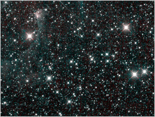 Última luz del Wise - NASA/JPL-Caltech/UCLA