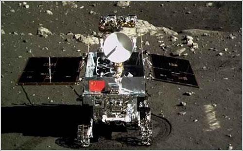 Yutu en la Luna