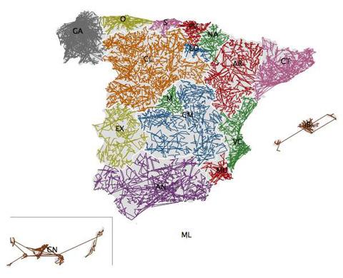 ZIPSribblemap España - Eager Eyes