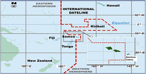 Zona horaria de Samoa