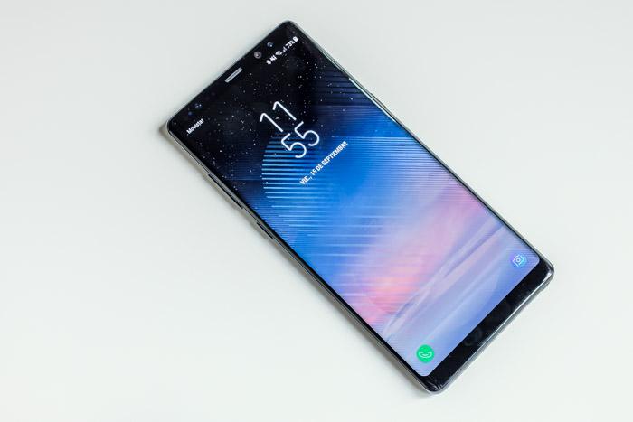 """7895b00206f Esto repercute en la duración de la batería. El Galaxy Note 8 es un teléfono  """"de un día"""""""