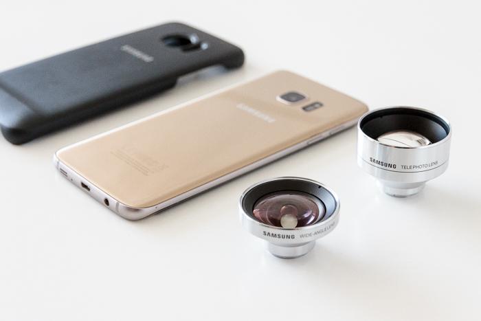 Samsung Lens Cover, dos objetivos para la cámara del Galaxy S7