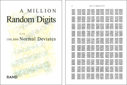 A Million Random Digits 1