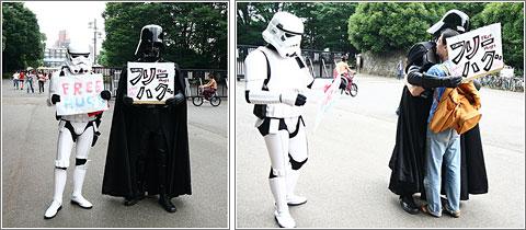 Abrazos Darth Vader
