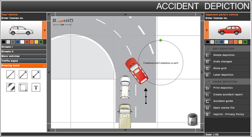 Accident-Depiction