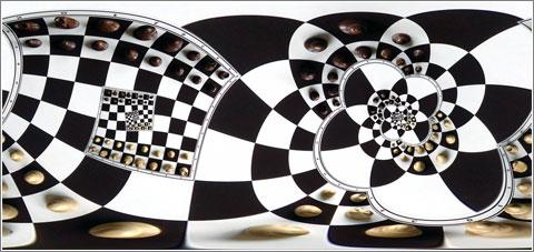 Chessboard (con efecto Droste)