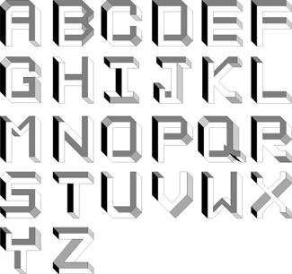 Alfabeto imposible Miwa Miwa