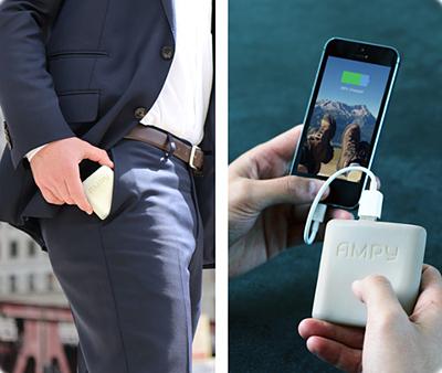 Este accesorio carga la batería del móvil mientras caminas