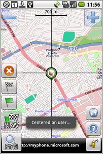 AndNav 2, GPS para Android