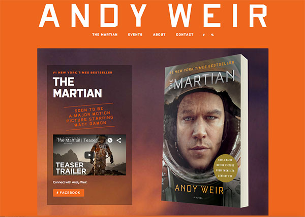 Andy Weir Blog