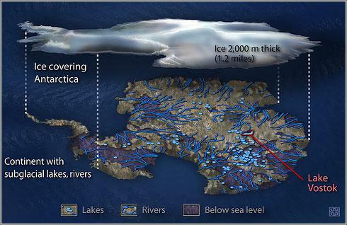 La Antártida sin Hielo, © Zina Deretsky / National Sciente Foundation)