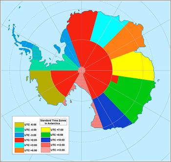 Antartida-Timezone
