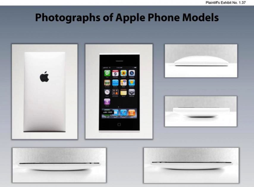 Apple samsung thermonuclear war over android over least we got these iphone prototype photos out battle
