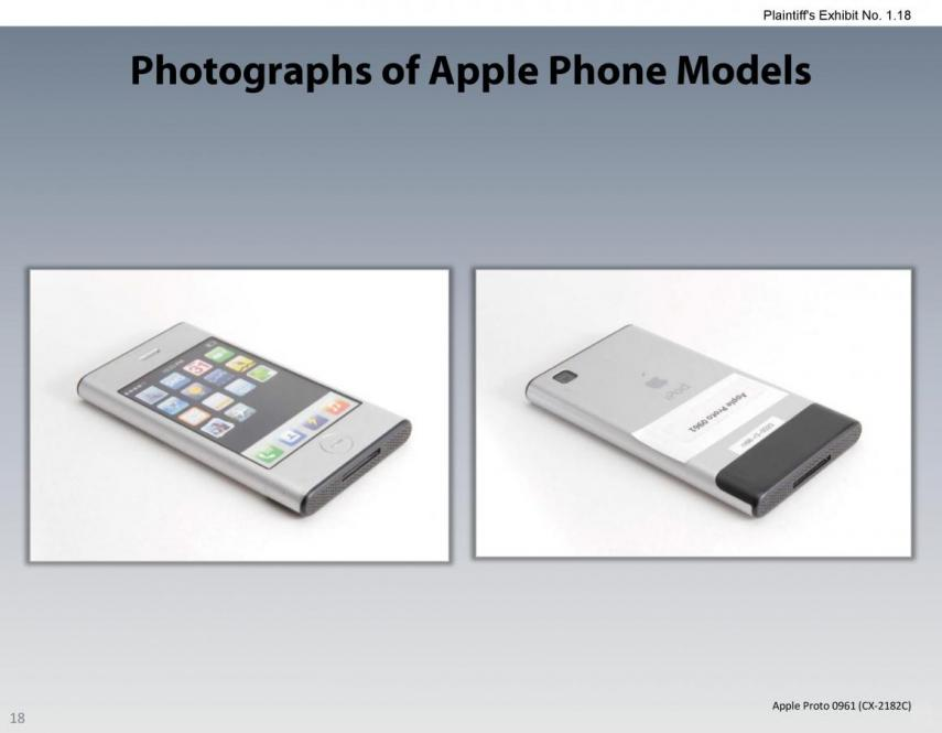 Apple samsung thermonuclear war over android over least we got these iphone prototype photos out battle 17