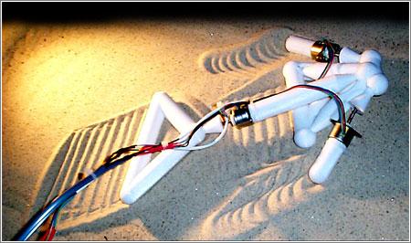 Arrow Sand, un proyecto de robot autorreplicante