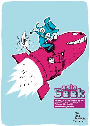 Asia Geek en Madrid