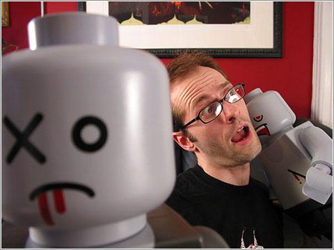 Ataque Lego Zombis
