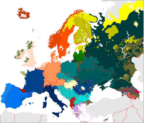 Atlas Europa Idioma