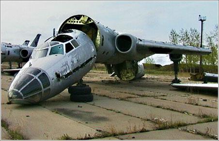 Aviones Rusos Abandonados