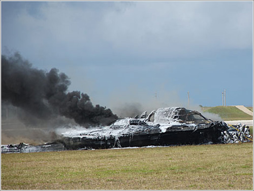 B2 Stealth Crash