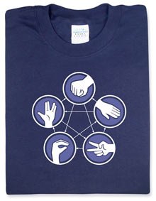 B597 Rock Paper Scissors Lizard Spock
