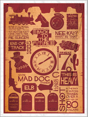 Back To The Future 3 Alternative Poster Art By Davewi11-D4U3742