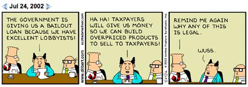 Bailout Dilbert 2002