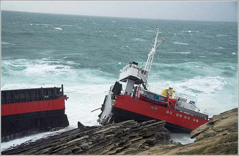 Barco Accidentado Hondarribia