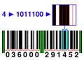 Barcode UPC 12