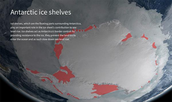 Barreras hielo antartida