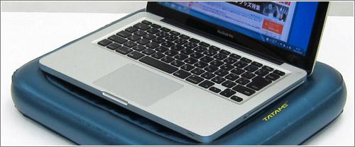 Waterbed / La base para portátil que no cuece: refrigera por agua