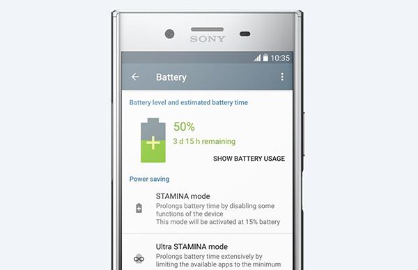 Bateria sony xz premium 2017