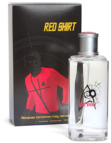 Bcdc Red Shirt Star Trek Cologne