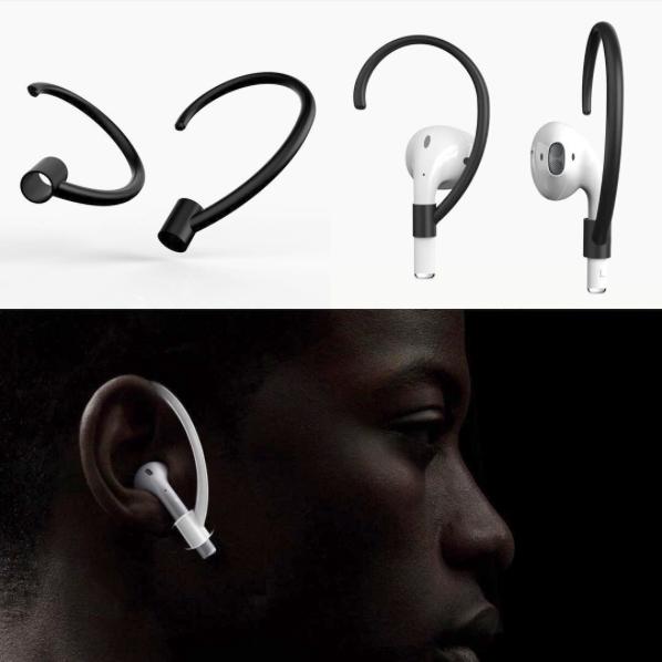 Un ingenioso accesorio para asegurar la sujeción de los AirPods de Apple