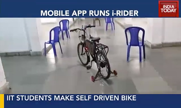 Bici Autonoma India Today