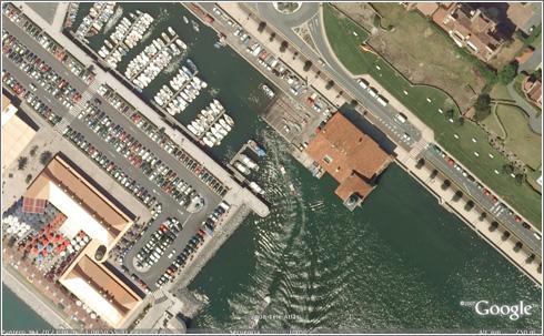 Bilbao en Google Earth