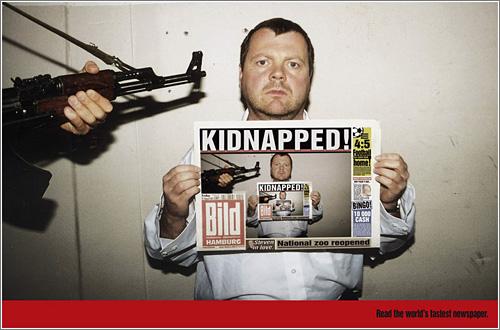 Bild: Kidnapped / Jung von Matt