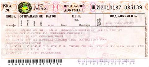 Billete-Tren-Ruso