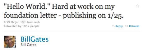 @BillGates tiene una cuenta en… ¡Twitter!