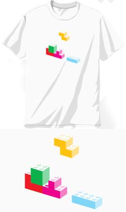 Camiseta Blockotetris
