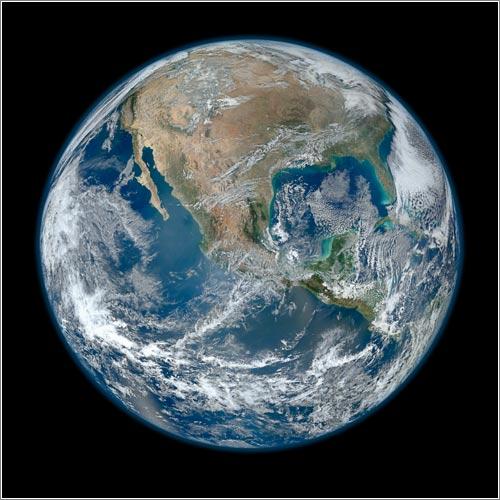 Blue Marble (CC) NASA/NOAA/GSFC/Suomi NPP/VIIRS/Norman Kuring