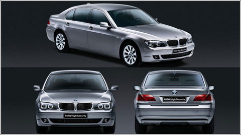 BMW 7 Series High Security © BMW