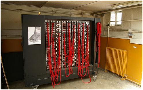 Máquina «Bomba» en el Museo, (CC) Tim Gage