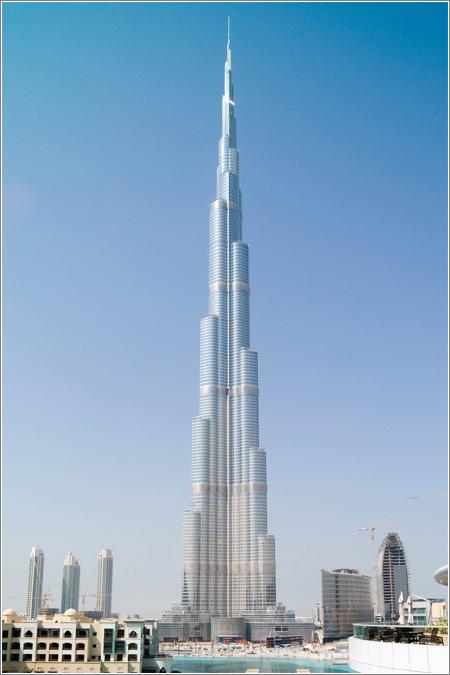 Burj Dubai (CC) Joi Ito