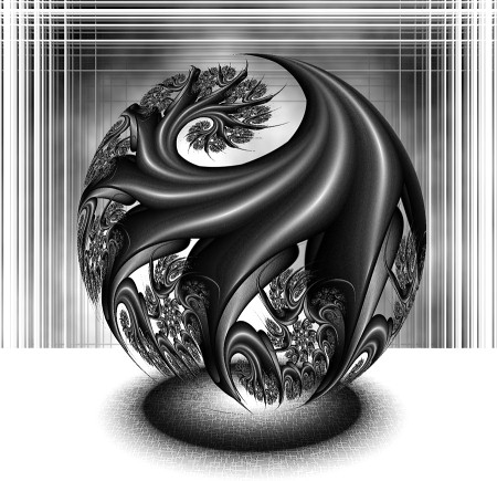 Black and White Fractals That Capture Creativity