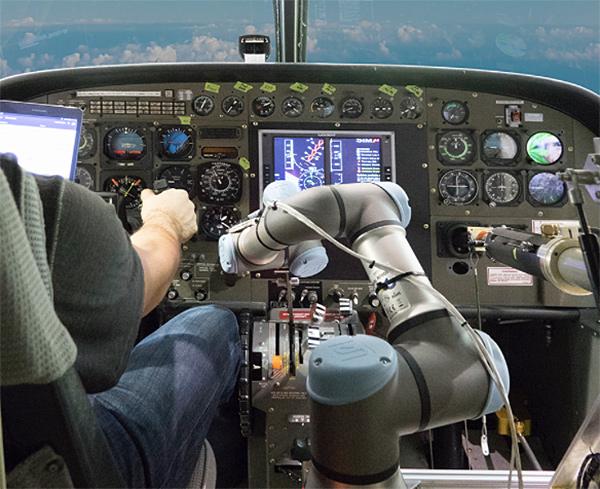 Cabinas cessna aurora robot