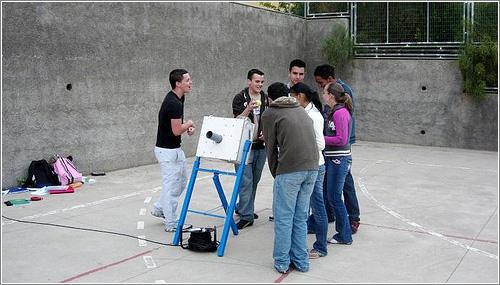 Cannonbasket: matemáticas divertidas / en Fogonazos