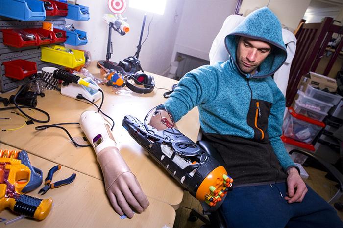 Canon nerf blaster bionic